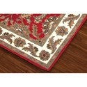 Dalyn Jewel Red 5'X8' Rug