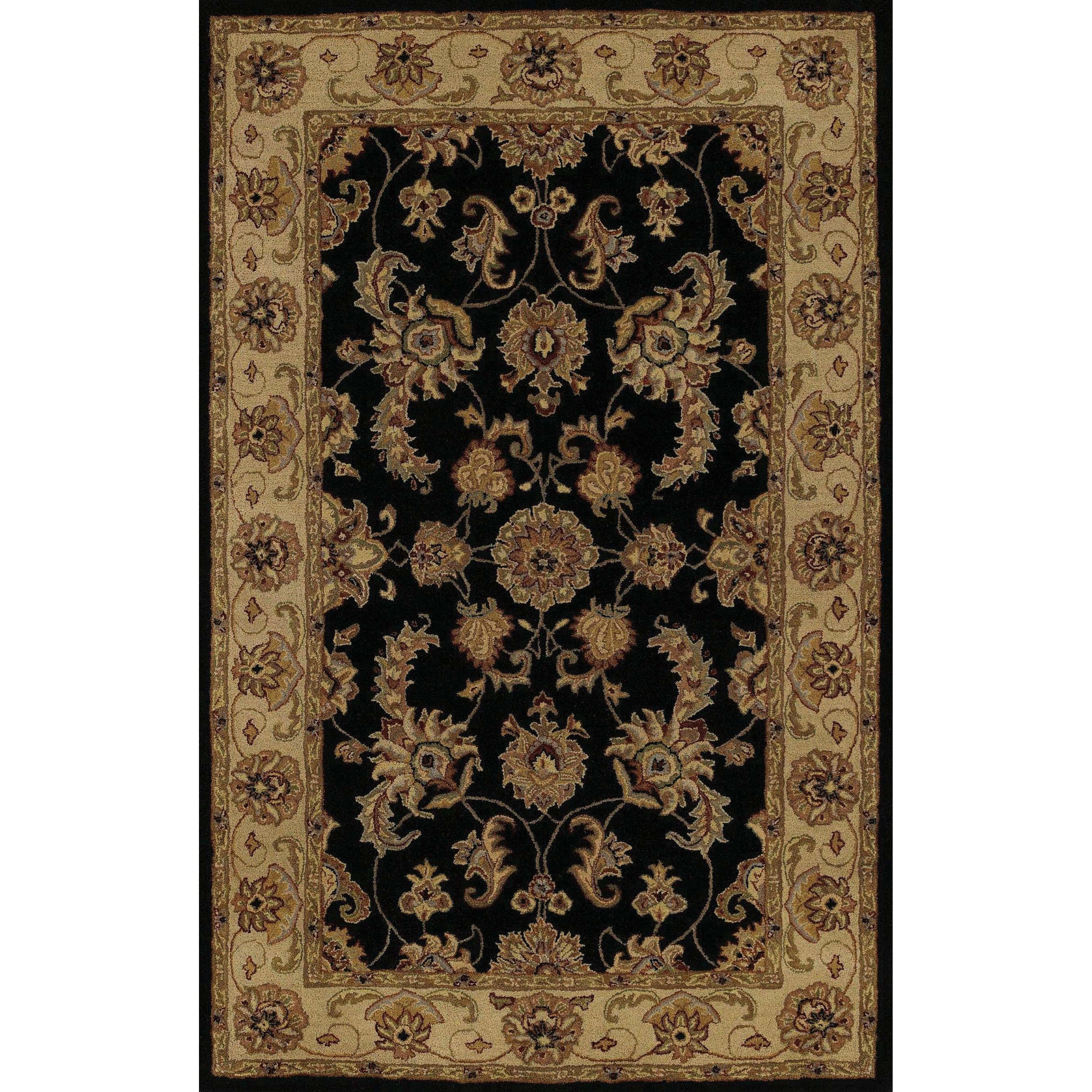 "Dalyn Jewel Black 9'6""X13'6"" Rug - Item Number: JW1787BK10X14"