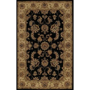 "Dalyn Jewel Black 2'3""X8' Rug Runner"