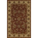 "Dalyn Jewel Copper 9'6""X13'6"" Rug - Item Number: JW1787CO10X14"