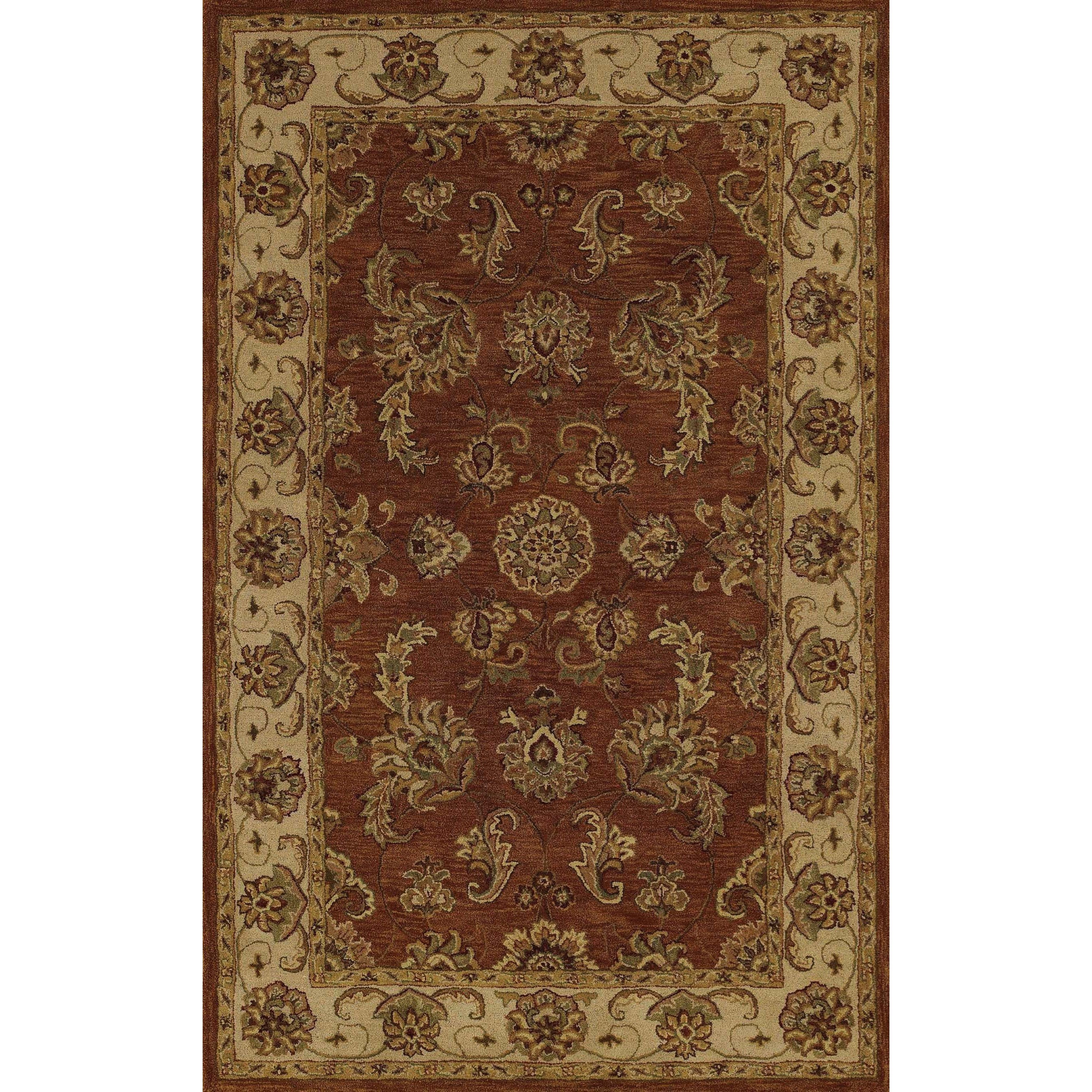 "Dalyn Jewel Copper 2'3""X8' Rug Runner - Item Number: JW1787CO2X8"