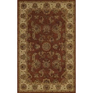 "Dalyn Jewel Copper 3'6""X5'6"" Rug"