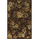 "Dalyn Jewel Chocolate 2'3""X8' Rug Runner - Item Number: JW30CH2X8"