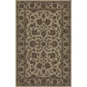 "Dalyn Jewel Ivory/Sage 2'3""X8' Rug Runner - Item Number: JW31IV-SG2X8"
