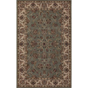 "Dalyn Jewel Spa Blue/Ivory 3'6""X5'6"" Rug"