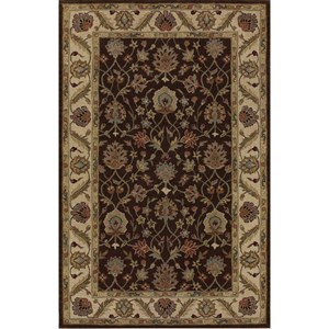 "Dalyn Jewel Chocolate / Ivory 9'6""X13'6"" Rug"