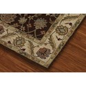 Dalyn Jewel Chocolate / Ivory 5'X8' Rug