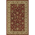"Dalyn Jewel Salsa/Ivory 9'6""X13'6"" Rug - Item Number: JW33SA-IV10X14"