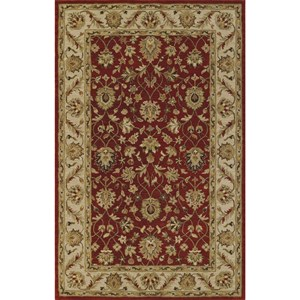 "Dalyn Jewel Salsa/Ivory 3'6""X5'6"" Rug"