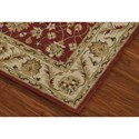 Dalyn Jewel Salsa/Ivory 5'X8' Rug