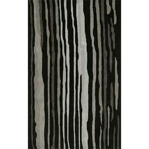 Black 9' x 13' Rug