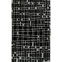 """Dalyn Journey Black 3'6"""" x 5'6"""" Rug - Item Number: JR40BK4X6"""