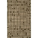 "Dalyn Journey Chocolate 5' x 7'6"" Rug - Item Number: JR40CH5X8"