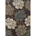 "Dalyn Marcello Chocolate 8'2""X10' Rug - Item Number: MO612CH8X10"