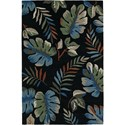 "Dalyn Maui Black 5'X7'6"" Rug - Item Number: MM1BK5X8"