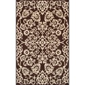 "Dalyn Messina Chocolate 8'2""X10' Rug - Item Number: ME1070CH8X10"