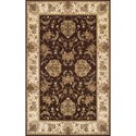 """Dalyn Messina Chocolate 3'3""""X5'1"""" Rug - Item Number: ME1532CH3X5"""