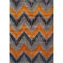 "Dalyn Rossini Tangerine 3'3""X5'1"" Rug - Item Number: RS8026TA3X5"