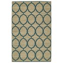 Dalyn Santiago Teal 8'X10' Rug - Item Number: SG100TE8X10