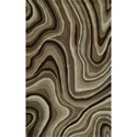 "Dalyn Santino Chocolate 3'6""X5'6"" Rug - Item Number: SO42CH4X6"