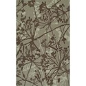 "Dalyn Santino Taupe 3'6""X5'6"" Rug - Item Number: SO54TA4X6"