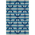 "Dalyn Seaside Ocean 5'X7'6"" Rug - Item Number: SE9OC5X8"