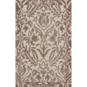 "Dalyn Studio Khaki 5'X7'9"" Rug - Item Number: SD23KH5X8"