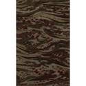 "Dalyn Upton Chocolate 5'3""X7'7"" Rug - Item Number: UP2CH5X8"