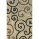 Dalyn Visions Walnut 8'X10' Rug - Item Number: VN1WA8X10