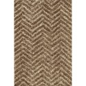 Dalyn Visions Taupe 9'X13' Rug - Item Number: VN21TA9X13