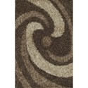 """Dalyn Visions Taupe 3'6""""X5'6"""" Rug - Item Number: VN6TA4X6"""