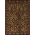 Dalyn Wembley Red 3'X5' Rug - Item Number: WB38RD3X5