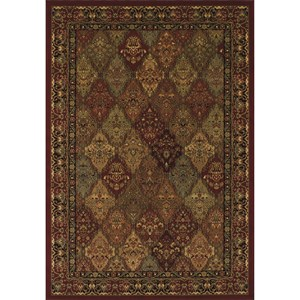 """Red 5'1""""X7'5"""" Rug"""