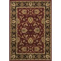 """Dalyn Wembley Red 9'6""""X13'2"""" Rug - Item Number: WB524RD10X14"""