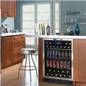 Danby Wine Coolers and Beverage Centers 5.3 Cu. Ft. Beverage Center with 112 Beverage Can Capacity - Built-In Design