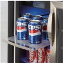 Danby Silhouette 5.0 Cu. Ft. Silhouette Series Beverage Center with 60 Can Capacity - Slide Out Shelves