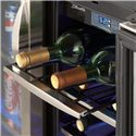 Danby Silhouette 5.0 Cu. Ft. Silhouette Series Beverage Center with 60 Can Capacity - The Unit Caters to Wine as Well