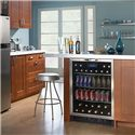 Danby Silhouette 5.3 Cu. Ft. Silhouette Series Beverage Center with 112 Beverage Can Capacity - Built-In Design