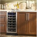 Danby Silhouette 3.3 Cu. Ft. Silhouette Series Wine Cooler with 34 Bottle Capacity - Beautiful Integrated Design
