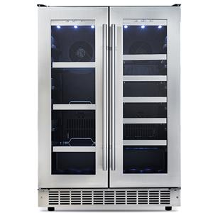 "Danby Silhouette Series Built-In Refrigerators 24"" 4.7 Cu. Ft. French Door Beverage Center"