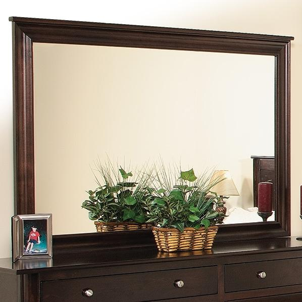 Cosmopolitan Mirror w/ Brackets by Daniel's Amish at Pilgrim Furniture City