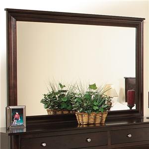Daniel's Amish Cosmopolitan Mirror w/ Brackets