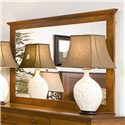 Daniel's Amish Elegance Tall Wide Mirror - Item Number: 39-3521