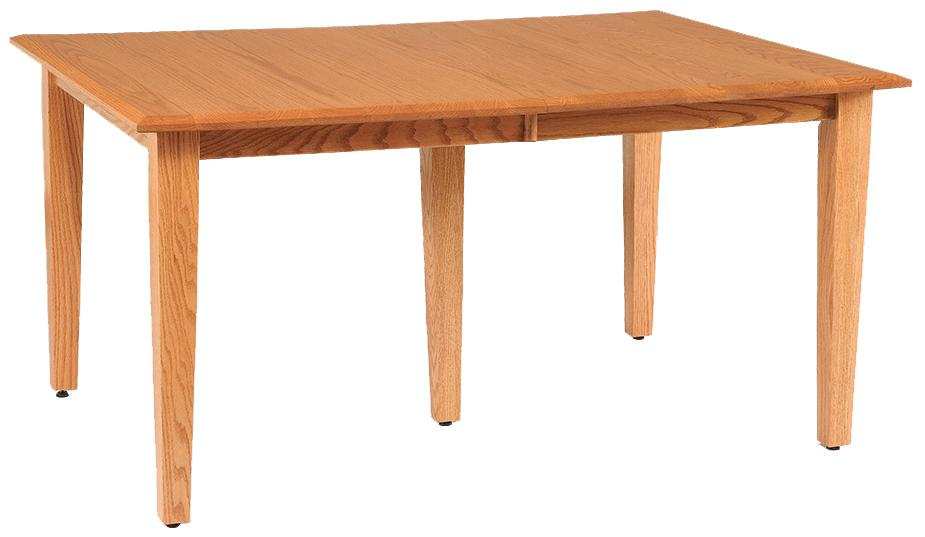 Daniels Amish Shaker 36 X 48 Rectangle Table Top W Two