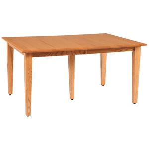 "Daniel's Amish Shaker 36"" x 48"" Rectangle Table Top w/ 2 Leaves"