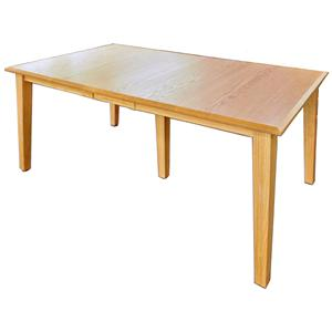 "Daniel's Amish Shaker 42"" x 60"" Rectangle Table Top w/ 2 Leaves"