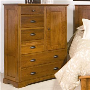 Daniel's Amish Amish Elegance 6-Drawer, 1 Door Armoire