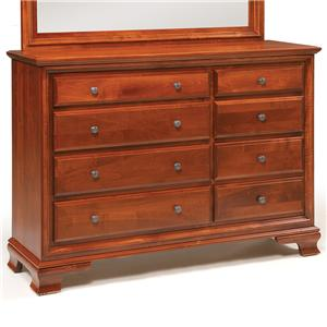 Daniel's Amish Classic Triple Dresser