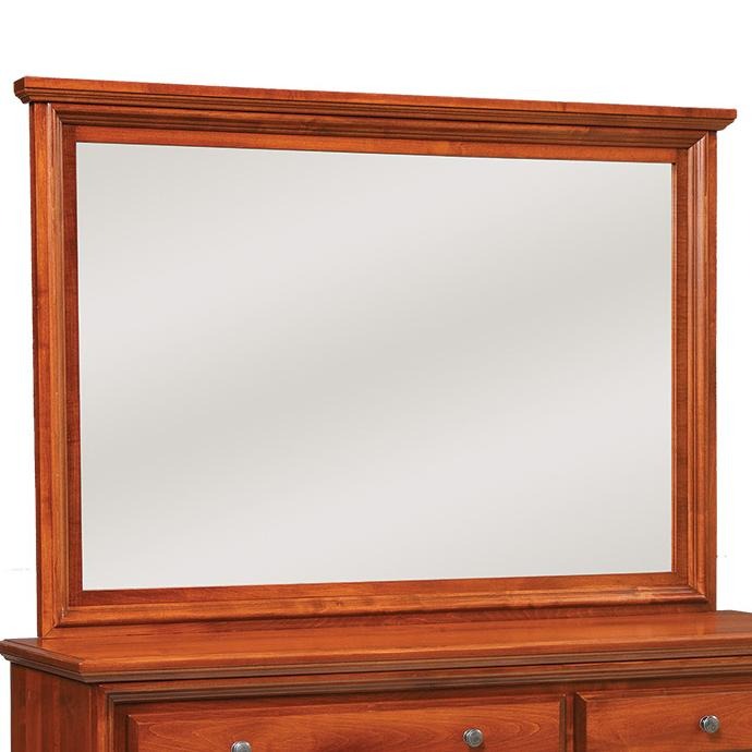 Classic Mirror by Daniels Amish at Virginia Furniture Market