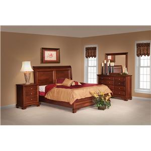 Daniel's Amish Classic Queen Bedroom Group